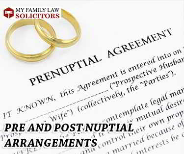 Pre Nup or Post Nuptial Agreements